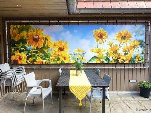 Banner zeildoek – zomer