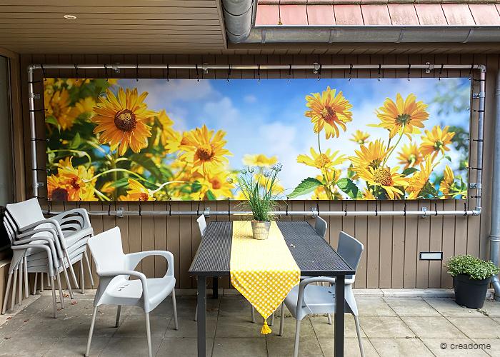 Banner zeildoek - zomer