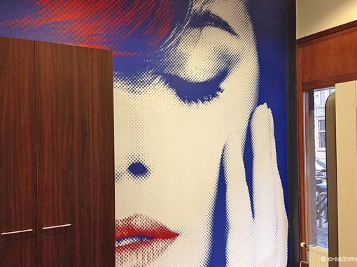 Fotobehang Hairstudio Rayzers Amsterdam
