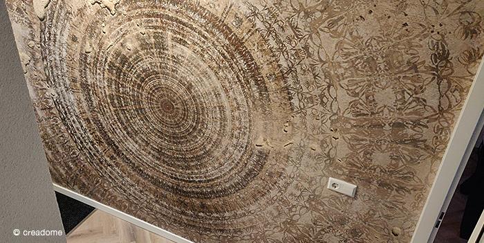 Fotobehang Mandala in hal