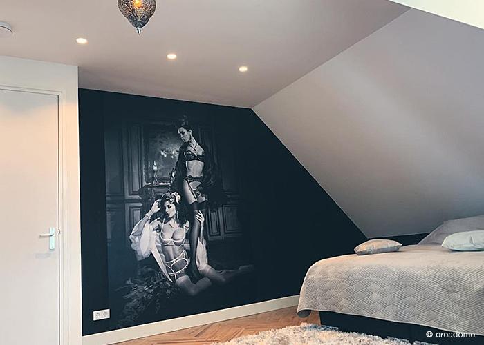 fotobehang slaapkamer sexy dames