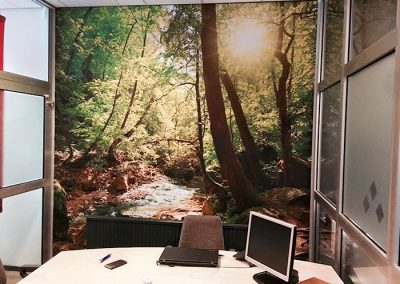 Fotobehang kantoorruimte