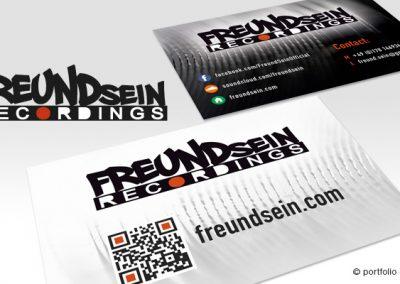 Visitekaartje Freundsein