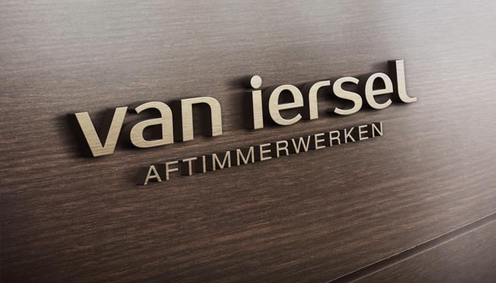 Logo en huisstijl Van Iersel Aftimmerwerken