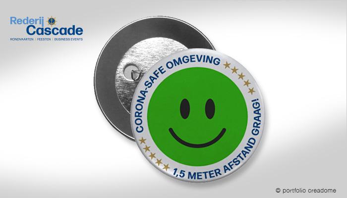 Corona-Save button
