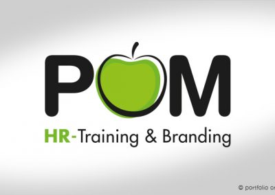 Logo POM HR-Training & Branding