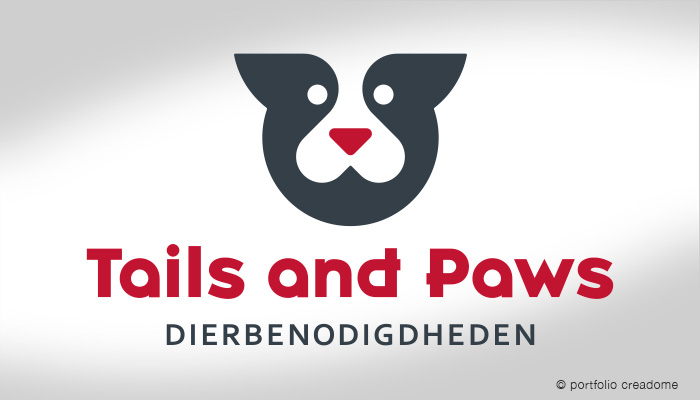 Logo Tails and Paws – Dierbenodigdheden
