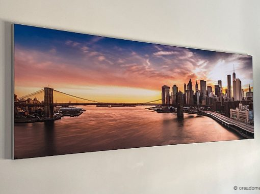 Wisselbaar textieldoek met Brooklyn Bridge
