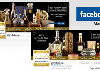 Facebook marketing L'Art Francais
