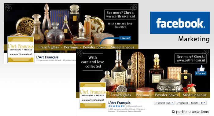 Facebook marketing L'Art Francais