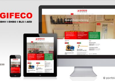 Website Gifeco Training & Advies