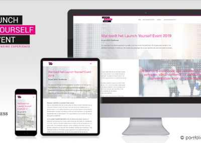 Website Launch Yourself Event 2019