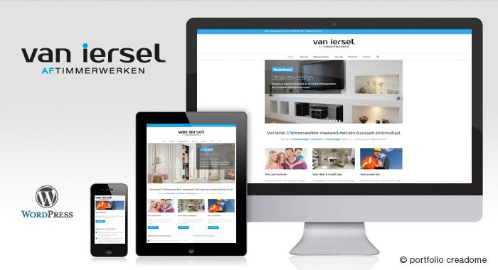 Website Van Iersel Aftimmerwerken