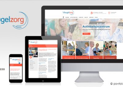 Website Vleugelzorg